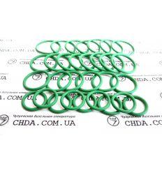 Кольцо бензомаслостойкое 33.1111069 каучук , зеленое Секции Камаз